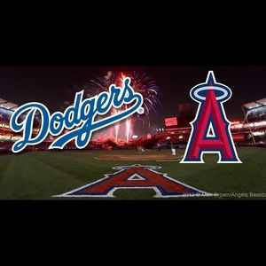 Dodgers vs angel tickets for sale